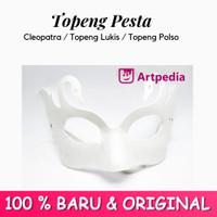 Topeng Pesta Cleopatra / Topeng Mata / Topeng Polos - Topeng Lukis