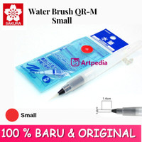 Sakura Water Brush QR-M Small (Merah) - water brush /Kuas Cat air