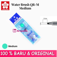 Sakura Water Brush QR-M Medium (Hijau) - water brush /Kuas Cat air