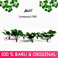 Maket Lompong 1:300 / Diorama Pohon / Miniatur Lompong