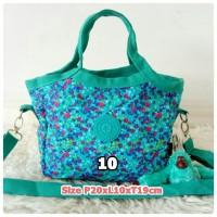 kp223 Tas Hand bag kipling motif + Tali panjang