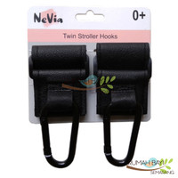 NeVia Twin Stroller Hook ( 2 pcs Gantungan Serbaguna untuk Stroller )
