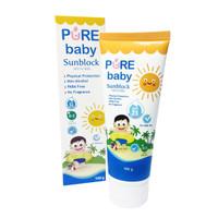 Pure Baby Sunblock SPF 25 100gr - Krim Tabir Surya