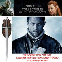 CB SWORDS King Arthur Legend of the Sword Excalibur Prop Replica