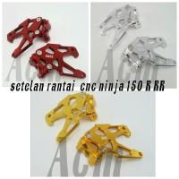 setelan rantai cnc ninja 150 R RR / stand hok cnc ninja 150 R RR