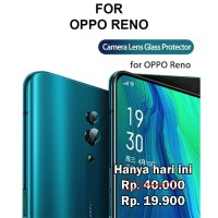 Camera tempered glass Oppo Reno anti gores pelindung kamera kaca