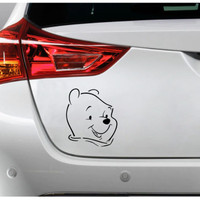 Sticker Decal Mobil Cutting Vinyl Winnie the Pooh