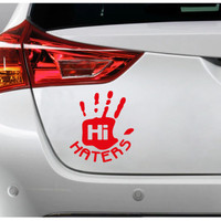 Sticker Decal Mobil Cutting Vinyl Hi Haters