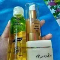 ORIGINAL Jual Paket Glowing Moreskin Nasa - Serum Gold - Collagen