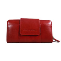 Dompet Kulit Wanita Mom 01 Red Antik