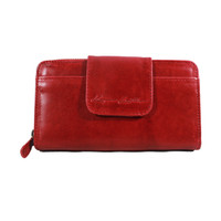 Dompet Kulit Wanita Mom New Red