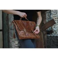 Messengger Leather Bag James Havana
