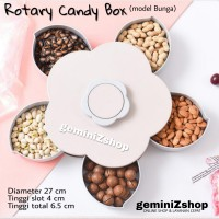 Flower Rotary Candy Box