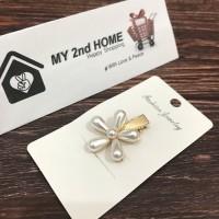 Jepit Rambut Kekinian HairClip / Hair clip Korea Style (Flower)