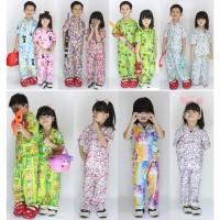 PREMIUM Baju Tidur Anak Piyama anak karakter umur 1 sd 7 tahun