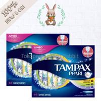 Tampon Tampax Pearl Jumbo 50 pcs Triple Pack NON Parfumes Tampons