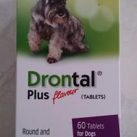 Obat Cacing Anjing Drontal Dog 1 Tablet TERLARIS