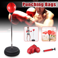 Punching Ball Set - Boxing Speed Ball Stand - Bola Tinju