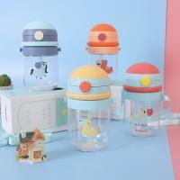 Botol minum anak transparan Bailiyou mode baru robot anak - TBR007
