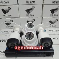 Paket CCTV 8CH 4 camera 4MP Tanpa Kabel