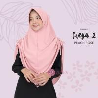 Khimar Freya 2 Peach Rose by Zizara