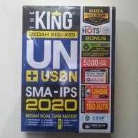 Buku UN USBN SMA 2020 : The King Bedah Kisi-kisi UN USBN SMA IPS 2020