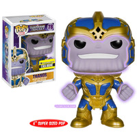 Toys Funko Pop Marvel: Guardians of The Galaxy Thanos Glow in The Dark