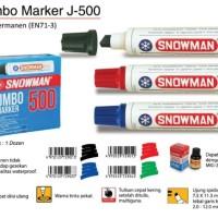 Spidol Permanent Snowman Jumbo Marker 500