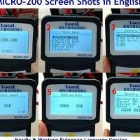New Alat Cek Aki Battery Tester Analyzer Lancol Micro-200 The Best