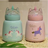 Botol Mug Unicorn lanskap mikro bahan stainless steel 340ml - TBR040