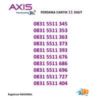 Kartu Perdana AXIS Nomor Cantik 11 Digit