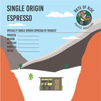 Pre-Order Single Origin Espresso, 1Kg
