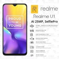 Realme U1 ram 3gb internal 32gb garansi resmi