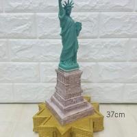 Patung Pajangan Miniatur Souvenir Patung Liberty Newyork