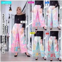 Celana Kulot Batik Layer Sinaran Warna