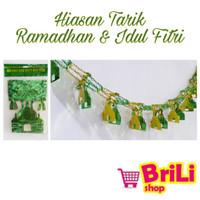jual hiasan puasa ramadhan idul fitri | garland dekorasi