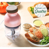 Capsule cutter quatre blender Chopper daging bumbu buah mini kapsul