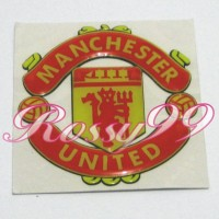 Sticker Timbul Manchester United Football Club Stiker MU Klub Bola NEW