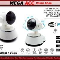 Mini Ip Cam Hd Wireless 720p Night Vision Suport Tf Card