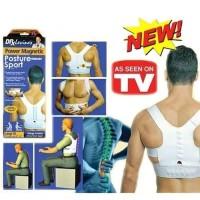 Power Magnetic Posture Sport / Penegak Punggung Putih