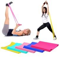 karet fitness pilates / Elastic Rubber Stretch Rope Pilates