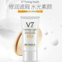 bioaqua v7 toning light skin bb cream foundation flawless