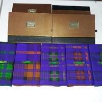 Sarung BHS motif kotak kotak