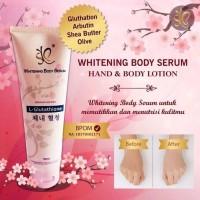 WHITENING BODY SERUM L-GLUTATHIONE ORIGINAL BPOM 180 ML