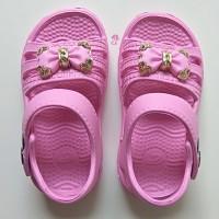 Sepatu Karet Anak Perempuan Sandal Wanita Sandal Flatshoes Cewek Pita