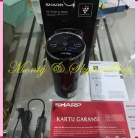 ID- Sharp IG-DC2Y-B Car Air Purifier - Black Garansi Resmi