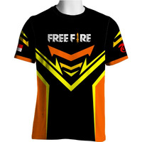 FF-36 Free Fire T-shirt Game