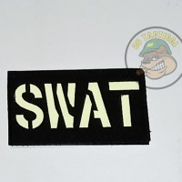 PATCH SWAT GLOW IN THE DARK
