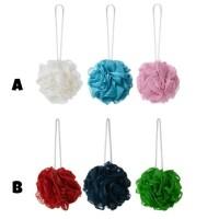 IKEA ABYAN Spons Mandi / Shower Puff - Set isi 3- aneka warna