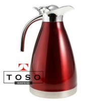 Stainless 2L Red Vacuum Jug Thermal Pot Water Jug Thermos Termos Air